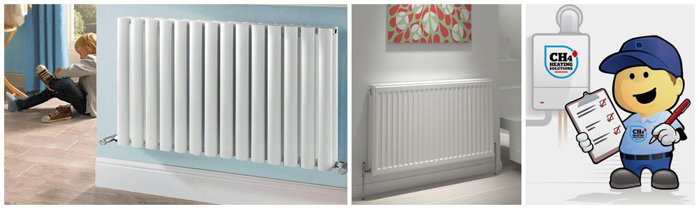 central-heating-radiator-installation-manchester - CH4 Heating Solutions